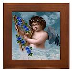 Stardust Angel : Framed Tile