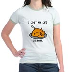 I Lost My Leg Jr. Ringer T-Shirt