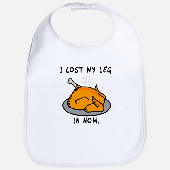 I Lost My Leg Bib