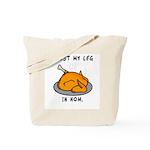 I Lost My Leg Tote Bag