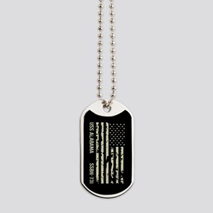 USS Alabama Dog Tags