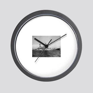 USS Pennsylvania Ship's Image Wall Clock