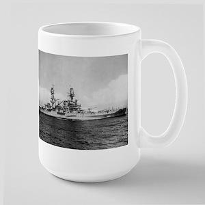 USS Pennsylvania Ship's Image Large Mug
