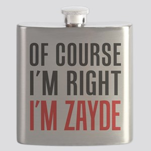 I'm Right Zayde Drinkware Flask