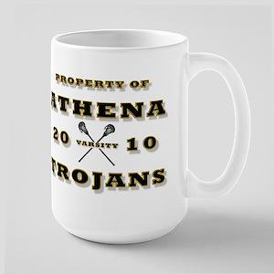 PROPERTY OF ATHENA LAX Large Mug