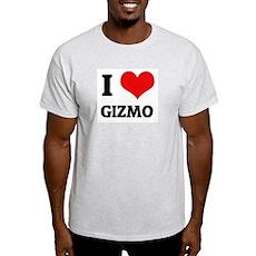 I Love Gizmo  Ash Grey T-Shirt
