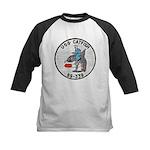 USS CATFISH Kids Baseball Jersey