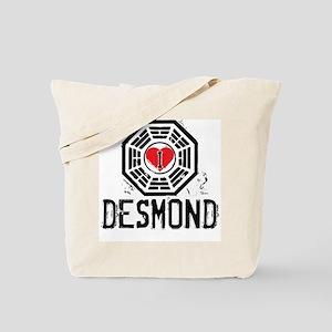 I Heart Desmond - LOST Tote Bag
