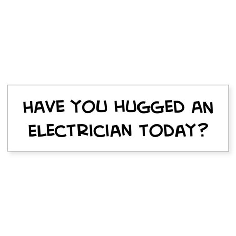 Funny Electrician Bumper Stickers