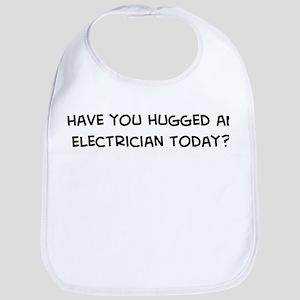 Hugged an Electrician Bib