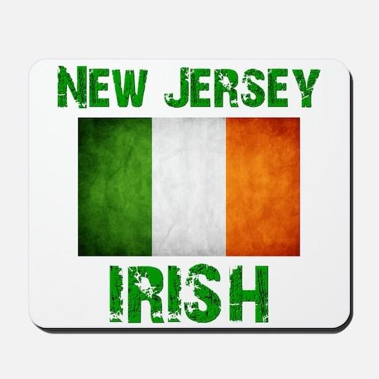 """""""New Jersey IRISH"""" Mousepad"""