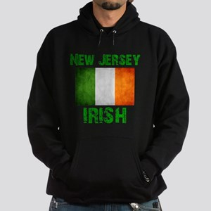 """New Jersey IRISH"" Hoodie (dark)"