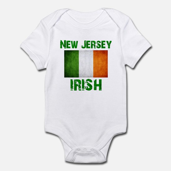 """New Jersey IRISH"" Infant Bodysuit"