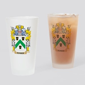 Pember Family Crest - Coat of Arms Drinking Glass