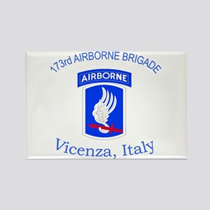 173rd ABN BDE Rectangle Magnet