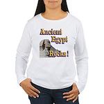 Giza Rocks Women's Long Sleeve T-Shirt