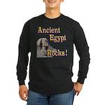 Giza Rocks Long Sleeve Dark T-Shirt