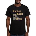 Giza Rocks Men's Fitted T-Shirt (dark)