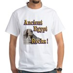 Giza Rocks White T-Shirt