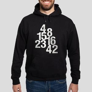 Eroded LOST Numbers Hoodie (dark)