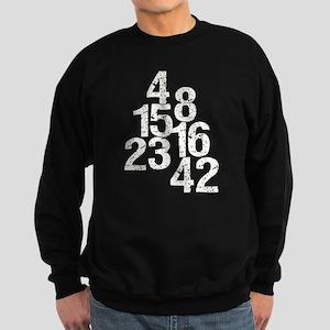 Eroded LOST Numbers Sweatshirt (dark)