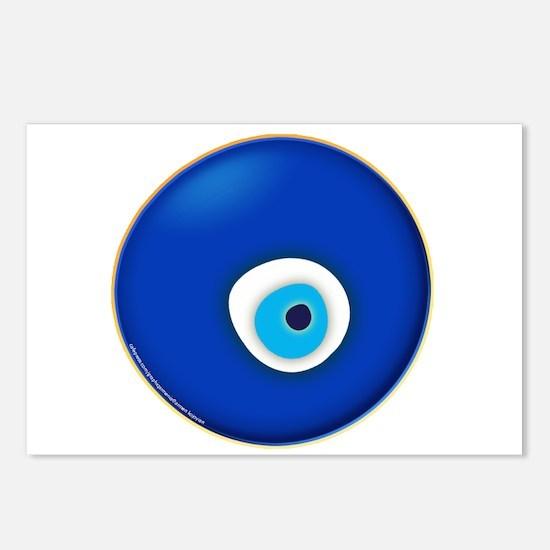 Evil Eye Postcards (Package of 8)