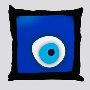 Evil Eye Throw Pillow