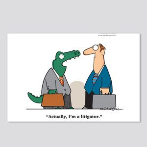 Litigator Postcards (Package of 8)
