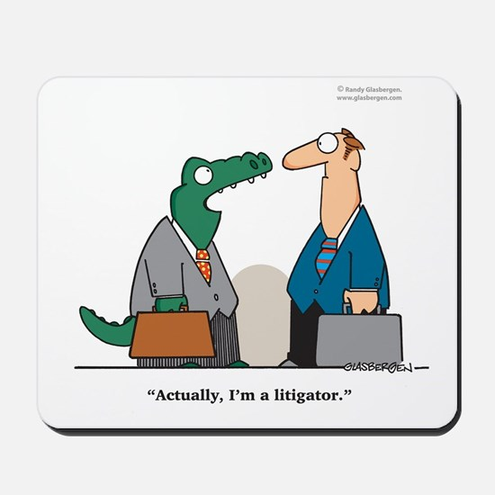 Litigator Mousepad