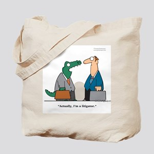 Litigator Tote Bag