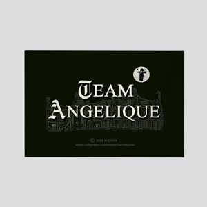 Team Angelique B&W Rectangle Magnet