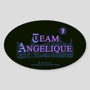 Team Angelique Color Sticker (Oval)