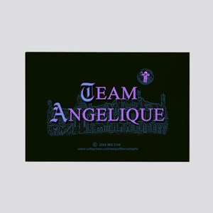 Team Angelique Color Rectangle Magnet