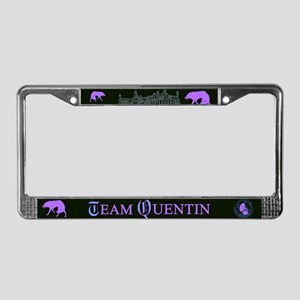 Team Quentin Color License Plate Frame