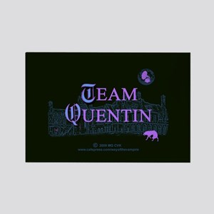Team Quentin Color Rectangle Magnet