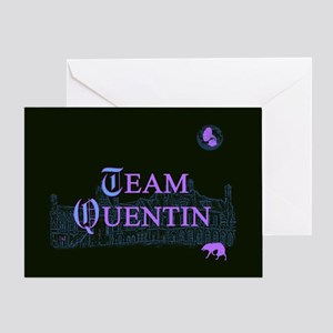 Team Quentin Color Greeting Card