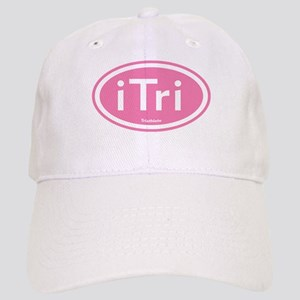 iTri Pink Oval Cap