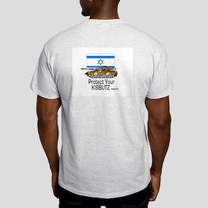 Kibbutz Tank Ash Grey T-Shirt