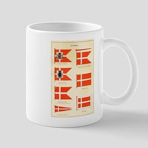 Old Denmark Flags Mug