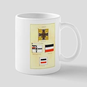 Old Germany Flags Mug