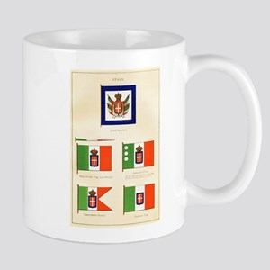Old Italy Flags Mug
