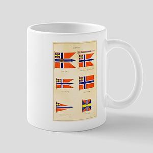 Old Norway Flags Mug