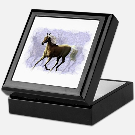 Horse shadows Keepsake Box
