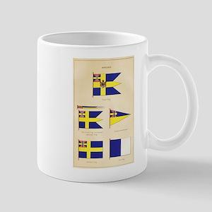 Old Sweden Flags Mug
