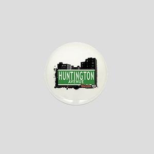 Huntington Av, Bronx, NYC Mini Button