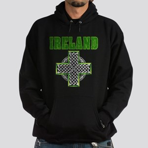 Ireland Cross Hoodie (dark)