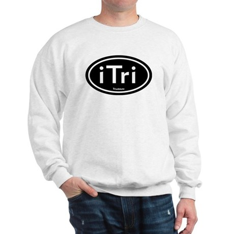 iTri Black Oval Sweatshirt