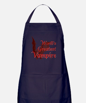 Greatest Vampire Apron (dark)
