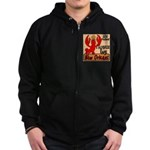Crawfish Zip Hoodie (dark)