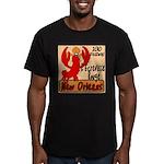 Crawfish Men's Fitted T-Shirt (dark)